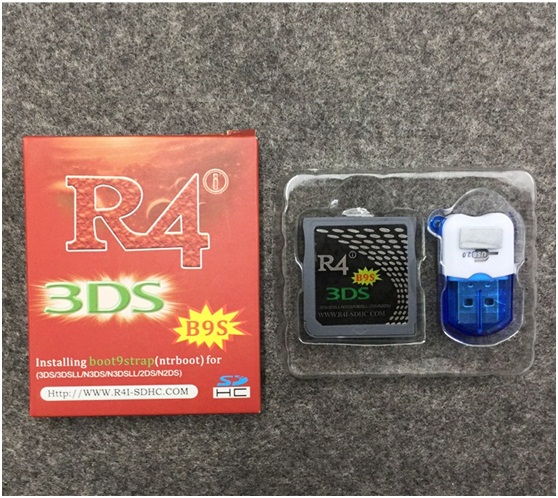 Which R4i Gold card hack ROM 3DS for free on New2DS 11 10